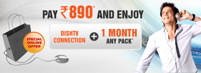 Dish TV DTH 890 online offer