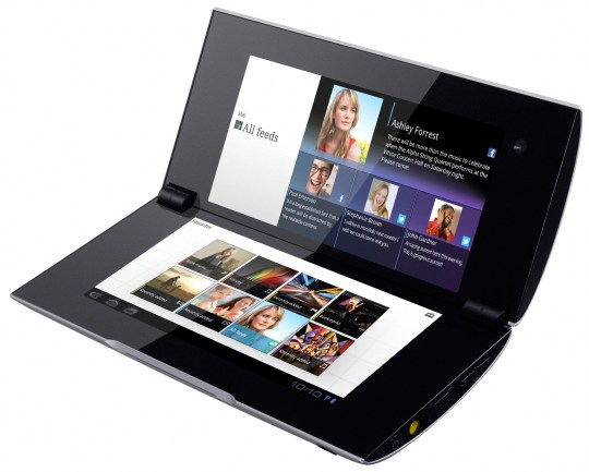 Sony S2 Tablet Features